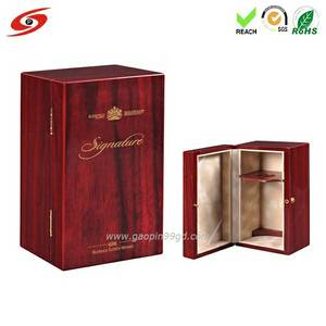 Wholesale wooden box: Wholesale Luxury Screen Printed Customized Wooden Wine Boxes