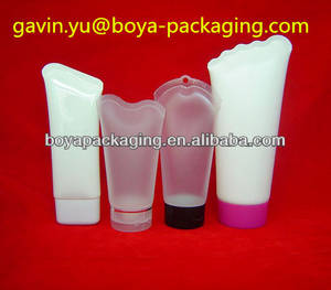 Wholesale Cosmetic Tubes: Unique End Seal Plastic Tube Cosmetice Tube Packaging