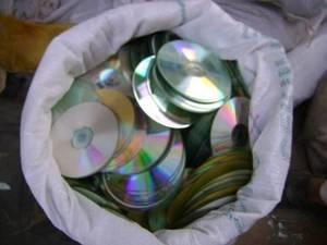 Wholesale lead ingots scrap: PC CD Metalized DVD Scraps for Sale