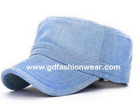 Jeans fabric Military Cap