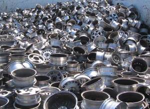 Wholesale for cars: Aluminum Wheel Scrap