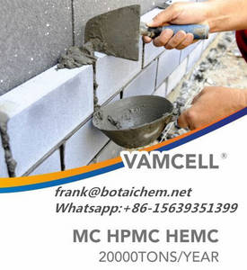 Wholesale paper table cover: Engineering Grouts Additive HPMC Mhpc Cellulose Ethers