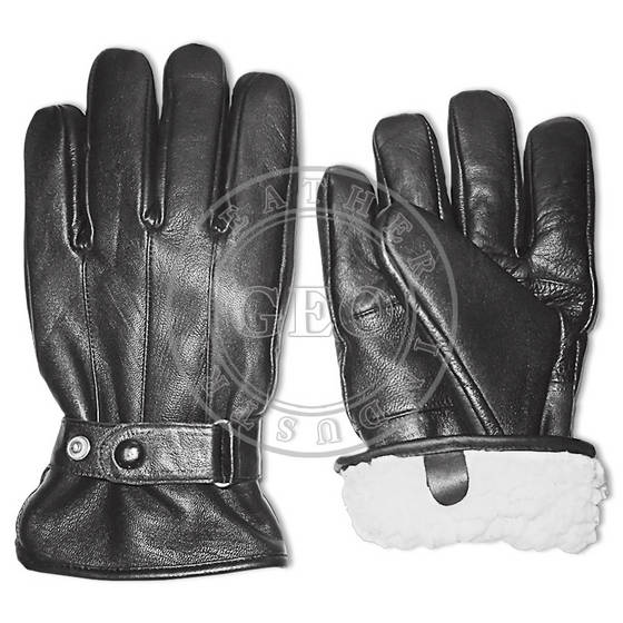 Gloves & Mittens: Sell Cut Piece Cp Winter Leather Gloves