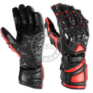 Wholesale leather glove: Motorbike Leather Gloves