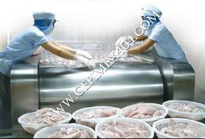 Wholesale plastic label: Pangasius Frozen