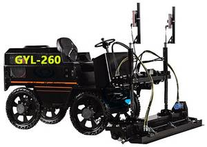 Wholesale Pavers: Laser Leveling Machine/ Ride On Concrete Laser Screed GYL-260
