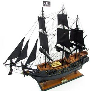 Wholesale sale: Hot Sale BACK PEARL PIRATE SHIP Wood Models