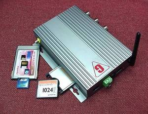 Wholesale mobile dvr board: Mobile Bluetooth One Channel MPEG-4 DVR