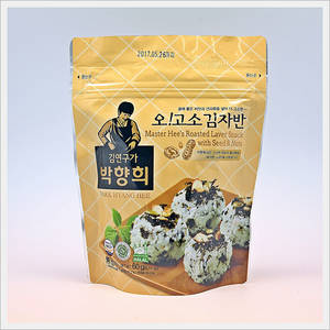 Wholesale seaweed laver: Master Hee's Seaweed Roasted with Seeds & Nuts