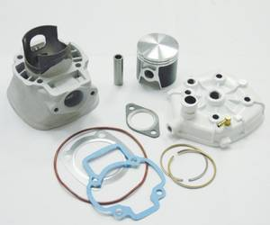 Wholesale Other Motorcycle Parts: PIAGGIO LC(NEW) Ceramic Cylinder Kit with Cylinder Head
