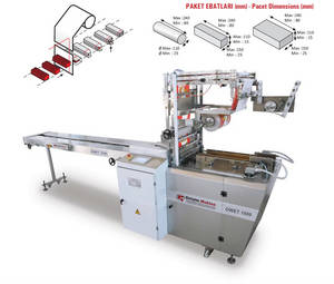 Wholesale wafer biscuit: Overwrapping Packaging Machine (For Biscuits, Soap, Rice Cake, Wafer)