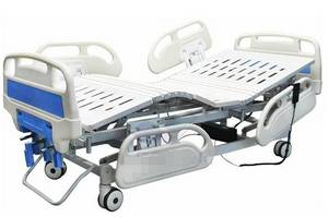 Wholesale hospital bed: Best Quality Five Function Electrical Hospital Bed