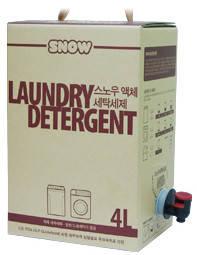 Wholesale rice liquor: SNOW Laundry Detergent 4L(Bag in Box)