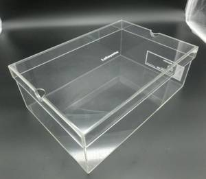 Wholesale fashion shoes: Fashion Plexiglass Shoe Case / Plastic Acrylic Shoe Box Storage Organizer