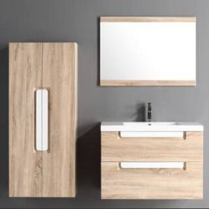 Wholesale drawer runners: Goldea Bathroom Cabinet SYRINX YBC 138-080