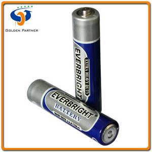 Wholesale dry battery: R03 Size AAA UM-4 PVC Jacket Heavy Duty Dry Battery
