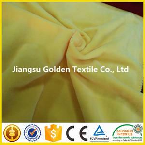 Wholesale polyester sofa fabric: High Quality 100% Polyester Short Plush Velboa Fabric for Sofa