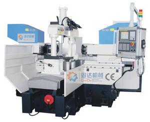 Wholesale cnc machinery: FANUC System CNC Two Heads Milling Machinery