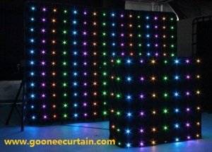 Wholesale light curtain: Indoor Decoration LED Curtain Light/LED DJ Curtain