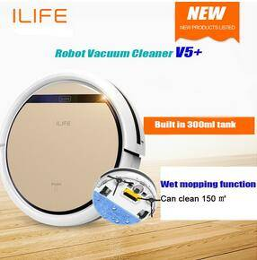 Wholesale mop cleaner: Robot Vacuum Cleaner Wet and Dry Clean MOP Water Tank HEPA Filter,Ciff Sensor,Self Charge ROBOT Aspi