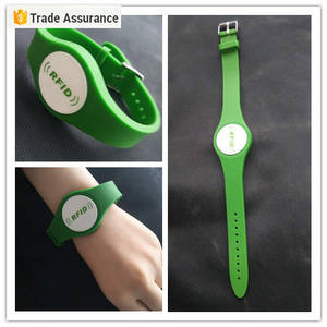 Wholesale silicone watch: Micro Waterproof RFID Nfc Wristband Smart Watch Silicone Bracelet Rfid Nfc Wristband Tag China Suppi