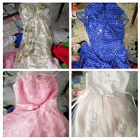 Used Women Long Dress Party Dress Wedding Dress