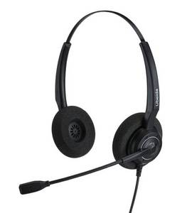 Wholesale Telephone Accessories: UB200DNC Ubeida Noise Cancelling Binaural Headset