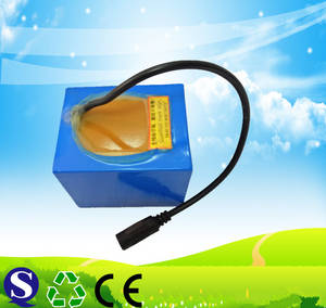 Wholesale battery packs: LIFEPO4 26650 12v 21Ah Li-ion Battery Pack