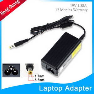 Wholesale mini laptop: 19V 1.58A Mini Laptop Adapter for Replacement