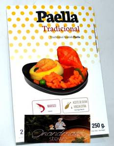 Wholesale seafood: Spanish Traditional Paella