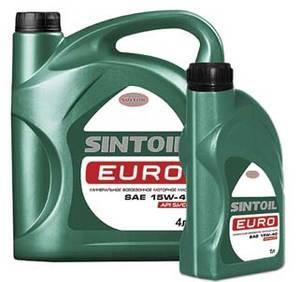 Wholesale vehicle: SINTOIL Euro SAE 15W-40 API SJ-CF