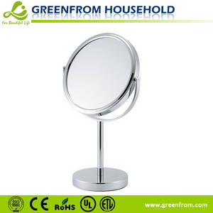 Wholesale makeup mirror: 7 Inch Magnification Table Stand Makeup Mirror