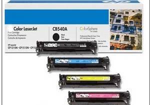 Wholesale color toner: Color Toner Cartridge for HP CB540A CB541A CB542A