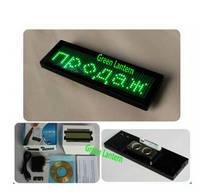 Mini LED Scrolling Electronic Name Badges