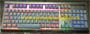 Wholesale led lighting: GM-201 LED Light Keyboard/ Whole Sale/ 104 Key/Colorful Backlight