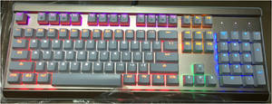 Wholesale gm 201: GM-201 LED Light Keyboard/ Whole Sale/ 104 Key/Colorful Backlight