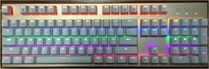 Wholesale light: GM-212 LED Light Keyboard/ Whole Sale/ 104 Key/Colorful Backlight