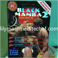 Black Mamba 2 / Sex Enhancer/ Top Quality for Male/Sex Product