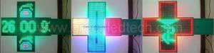 Wholesale led pharmacy display: Full color LED Pharmacy Cross Display 800x800