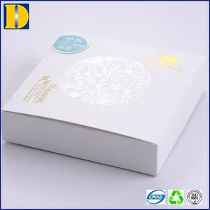 Wholesale custom cosmetic boxes: Custom Printing White Paper Box for Cosmetic Packaging