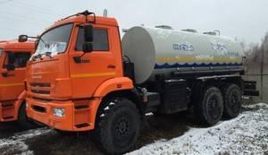 Wholesale drink: Water Tanker Truck (Off-road, 9700 Liters)