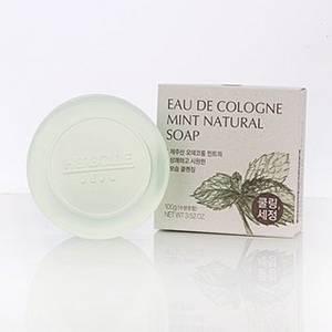 Wholesale coconut: Eau De Cologne Mint Coconut Oil Natural Soap