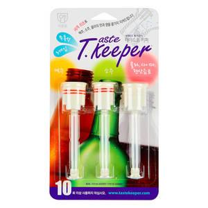 Wholesale floor care: MUR TASTEKEEPER 3pcs Bottle Stopper Fizz Saver Dispenser Wine Beer Cola Soda Cap