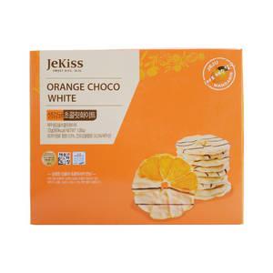 Wholesale pcs: Jekiss Orange Chocolate White 72g (12pcs) Fresh Orange Sweet From Korea Jeju