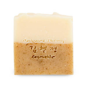 Wholesale coconut block: Jeju Natural Handmade Fermented Grain Soap Korea Cosmetic Skin Relief Antioxidant Improvement Jeju