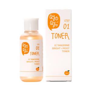 Wholesale tangerine: QyoQYo Tangerine Bright + Moist Toner 120ml Korea Cosmetic Whitening Moisturizing