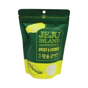 Wholesale sweet candy: Dalkomong Jeju Curcuma Taffy 80g Korean Traditional Sweet Healthy Candy Organic Rice Energy Daily