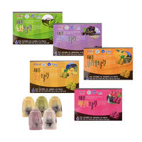 Jeju Assorted Fruit Chocolate Set 2 Types Taste Nutrition Scent Delicious Sweet Snack Candy Mouth-wa 3