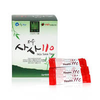 SASA110 (2g X 60 Packs / 120g) Tea Powder Healthy Vitality Bamboo Jeju Super Food Functional Best