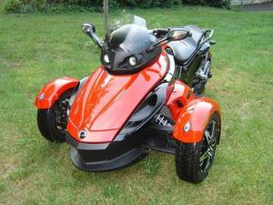 Wholesale atv: New Stock Can-am Spyder Roadster ( Red )